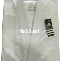 Baju Karate Adidas Baju Karate Gi Baju Karate Kata Baju Karate Komite - Putih, XXXL