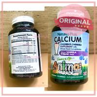 Natures Plus Animal Parade Calcium (90) Vitamin Tulang Anak