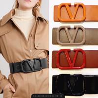 Ban Pinggang Obi Belt Branded Fashion Wanita PREMIUM 047 - Orange