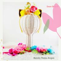 Bando Angsa Telinga Kucing Impor - Gold