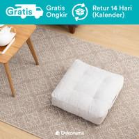 Dekoruma Kumi Square Floor Cushion | Bantal Lantai