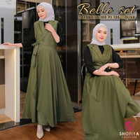 Baju Wanita / Setelan Muslim / Cikka Set Rok