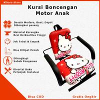 Kursi Bangku Jok Boncengan Bonceng Anak Motor Matic Bebek Hello Kity
