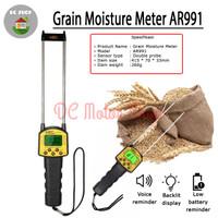 Digital Grain Moisture Meter Alat Pengukur Kadar Air Biji Bijian AR991