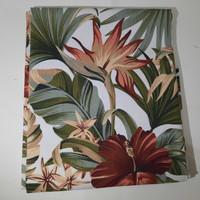 kanvas tropical red ( 50 cm x 150 cm )
