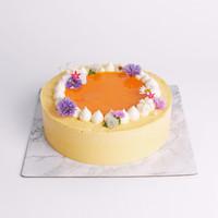 Mango Bliss Birthday Cake