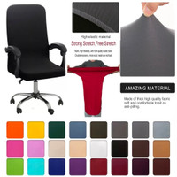 OFFICE CHAIR COVER Polyester Spandex-Sarung Kursi DIREKTUR Size:XL