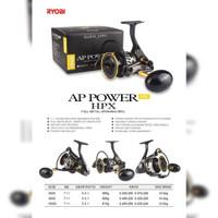 Reel Ryobi AP POWER HPX SW 6000 8000 7+1BB (Salt Water) Metal Body