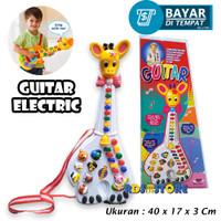 GTR-Jp Mainan Musik Anak Bayi Gitar Jerapah Mainan Anak - Animal Piano