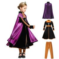 Baju Anna Coat Set Frozen 2 Princess / Kostum Anna Frozen 2 CG77