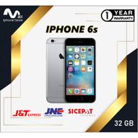 APPLE IPHONE 6S 32GB ORIGINAL GARANSI TOKO 1 TAHUN ROSEGOLD GREY GOLD - GREY