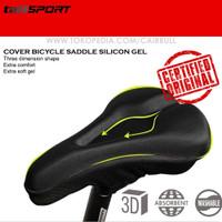 Jok sarung cover saddle sepeda silicon gel tiga dimensi ternyaman