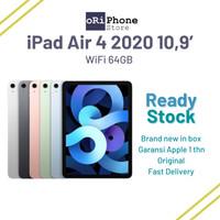 New iPad Air 4 2020 WiFi 64GB 10.9 Wi-Fi 64 GB