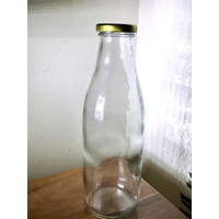 Botol Kaca 1 Liter | 1000 ml | Glass Bottle - 35