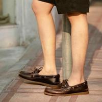 Sepatu Boatshoe Sperry Topsider Amaretto Original