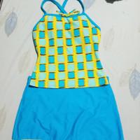 preloved baju renang swimsuit 2pcs wanita m size termurahh