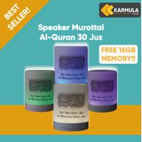 Speaker Bluetooth Alquran Lampu LED - Murottal 30 Juz | 16 Gb