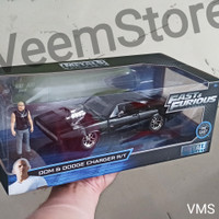 Die Cast 1:24 Dom & Dodge Charger RT [JADA] fast furious.