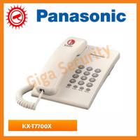 Pesawat Telepon Single Line Analog Panasonic KX-T7700 / telepon rumah