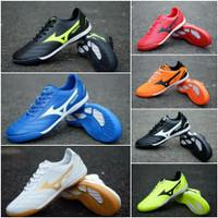 Sepatu Futsal Mizuno Neo Shin Black Blue Whiter Red Orange Green Gold - 39