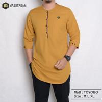 kurta Pakistan - baju koko pria - fashion muslim pria modern New 2021