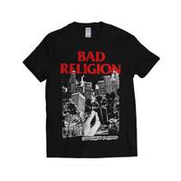 BAD RELIGION - L.A. IS BURNING | KAOS BAND | PUNK | T-SHIRT | GILDAN