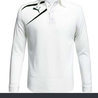 Kaos Polo Kaos Kerah Polo Shirt puma golf Lengan Panjang pria-wanita