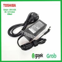 Adaptor Charger Laptop Toshiba C600 C640 L645 L640 L510 M300 Casan Ori