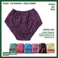 GROSIR CD Celana Dalam Wanita 5L Katun Ming XXXXL Jumbo Besar W282