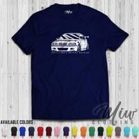 Kaos Distro Pria Wanita BMW E46 The Ultimate Driving Machine Tshirt