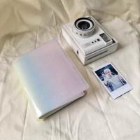 Album foto polaroid gradasi rainbow