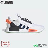 Sepatu Adidas NMD R1 V2 White Solar Red