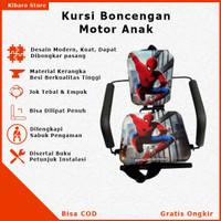 Kursi Bangku Jok Boncengan Bonceng Anak Motor Matic Bebek Spiderman