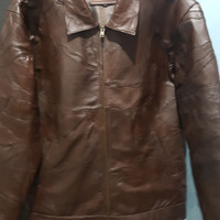 jaket kulit sambung..100% kulit asli