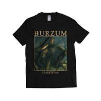 BURZUM - UMSKIPTAR   KAOS BAND   BLACK METAL   T-SHIRT   GILDAN