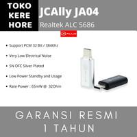 JCAlly JA04 USB C Audio DAC Dongle Adapter 32Bit 784Khz