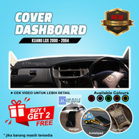 Aksesoris Cover / Karpet Dashboard Mobil Kijang Kapsul - Hitam