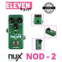 nux nod2 nod-2 nod 2 tuberman mk2 efek gitar overdrive