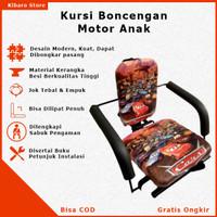 Kursi Bangku Jok Boncrngan Bonceng Anak Motor Matic Bebek Karakter Car