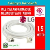 Water inlet selang masukan air mesin cuci LG 1 tabung 1,5 meter