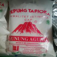 Tepung Tapioka Gunung Agung / Tepung tapioka cap Gunung Agung 500gr