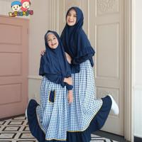 Gamis anak Raggakids RG 41 | Baju muslim anak | bisa couple ibu anak