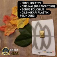 Logam Mulia, LM Antam, Emas 1 gram 24K - Redmark 2021