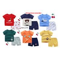 (0-2 Thn) Setelan Baju Bayi Import Pakaian Bayi Baju Anak Kaos