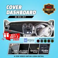 Akesoris Cover / Karpet Dashboard Mobil Datsun Go Panca / Go + Panca