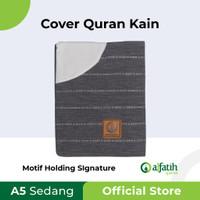 Cover Sampul Sarung Al-Quran AlQuran Quran Kain A5 Sedang