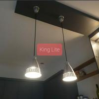 Lampu gantung cafe minimalis diameter 16 cm tinggi 21 cm
