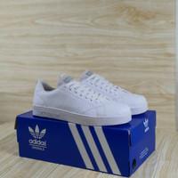Sepatu Kets Sneakers Adidas Neo advantage Full White Wanita
