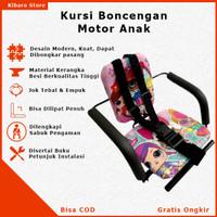 Kursi Bangku Jok Boncengan Bonceng Anak Motor Matic Bebek Karakter