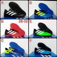 Sepatu futsal Adidas Anak 28 - 32 - Hijau Hitam, 32